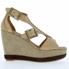 FL52 - Cappuccino - Footwear and wedges from Blackstone Shoes